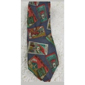 Geoffrey Beene Mens Tie China Town Broadway Silk